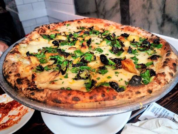 Pizzeria Vetri Pastinaca Pie