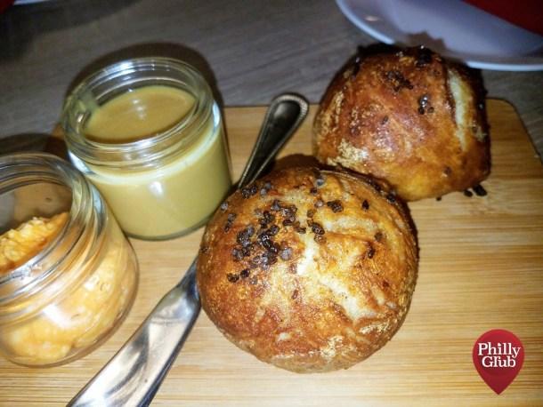 Butter Pretzel Rolls at Farmhouse Cherry Hill