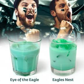 Fly Eagles Fly! Green Cocktails for Eagles Celebration