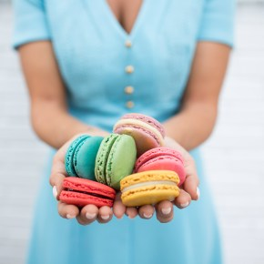 Free Macaron for First 200 at Woops! on Macaron Day
