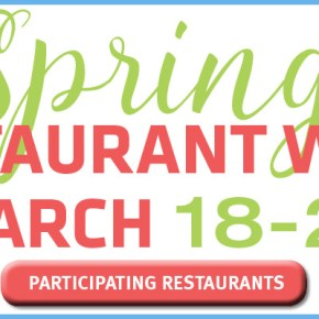 South Jersey Spring Restaurant Week 2018