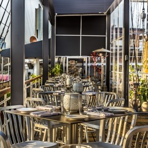 Moshulu Offers Lunch and The Deck Opens on May 17th