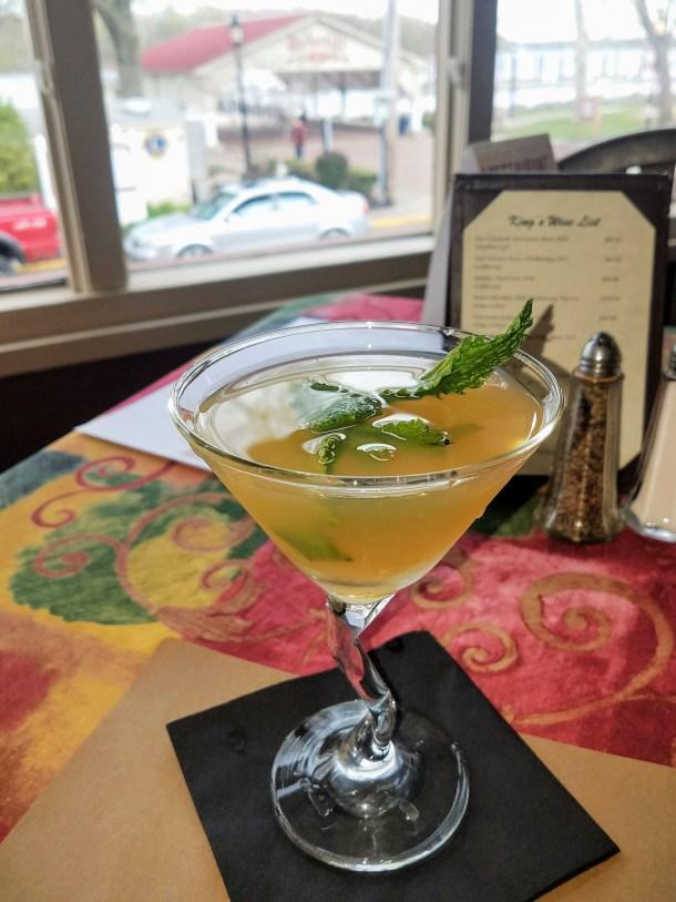 Kentucky Lemonade at King George II Inn Bristol PA