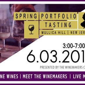 The Winemakers Co-Op Spring Portfolio Tasting at William Heritage Winery in Mullica Hill, NJ