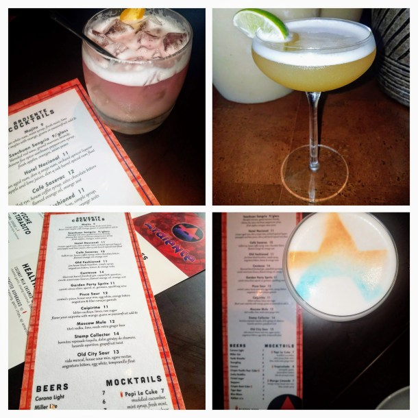 Ardiente cocktails collage