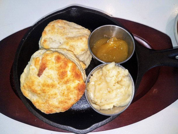 The Farmacy Palmyra NJ Biscuits Creme Brulee Butter Mango Jam