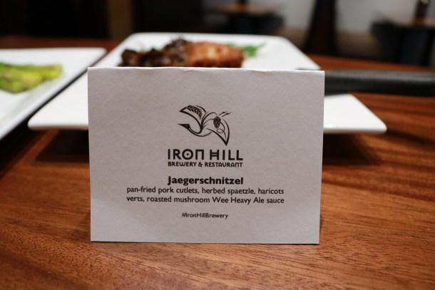 Iron Hill Brewery & Restaurant Center City Jaegerschnitzel