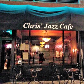 Dinner and a Show: A Night at Chris' Jazz Cafe