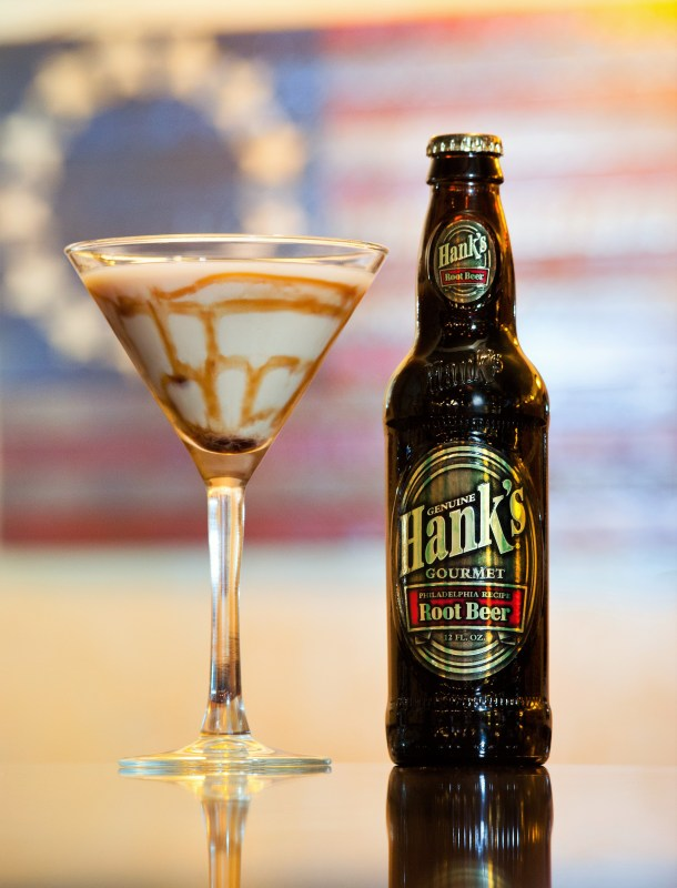 Hank's Gourmet Root Beer Floatini at American Pub - Credit Alison Dunlop Photo