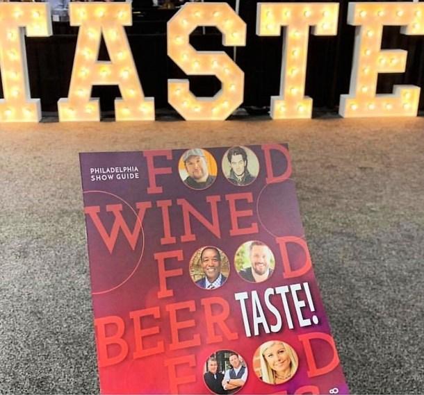 Taste Philadelphia Program 2018