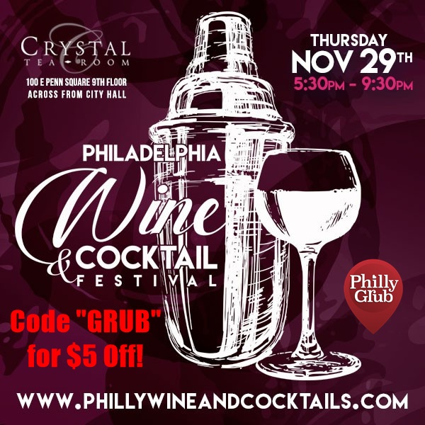 Philadelphia Wine & Cocktail Festival 2018 GRUB