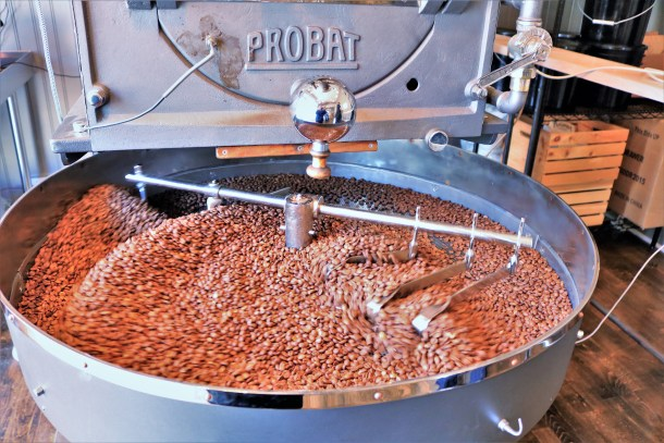 Roasting Coffee at Pilgrim Roasters Manayunk