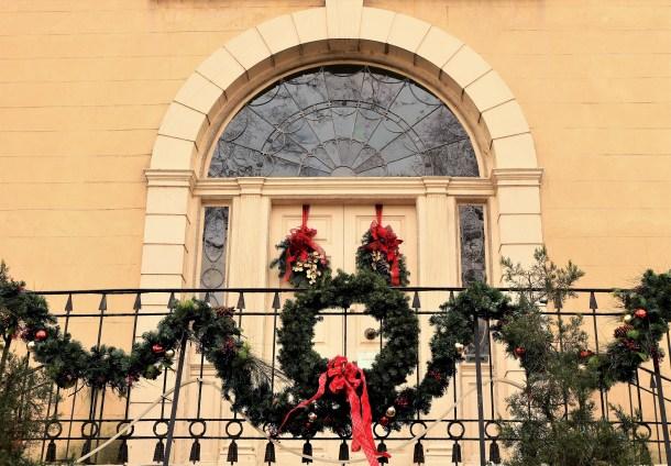 Christmas Decor at Lemon Hill Mansion