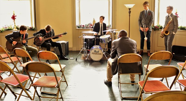 Clef Band at Lemon Hill Mansion