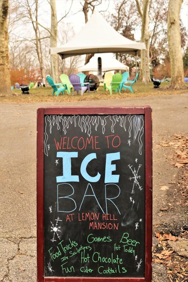 Ice Bar at Lemon Hill Mansion