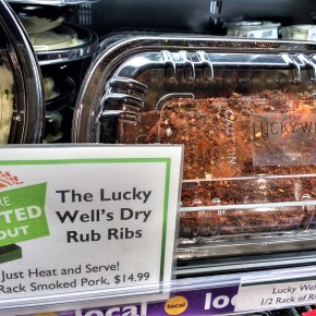 Lucky Well Ribs at Weavers Way