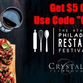 Tickets on Sale for 4th Annual Philadelphia Restaurant Festival