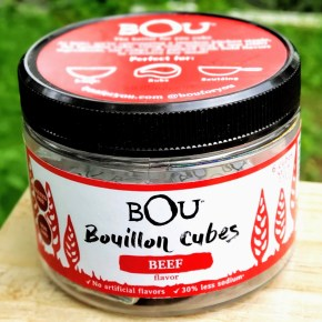 Product Corner: BOU Bouillon Cubes + Recipe