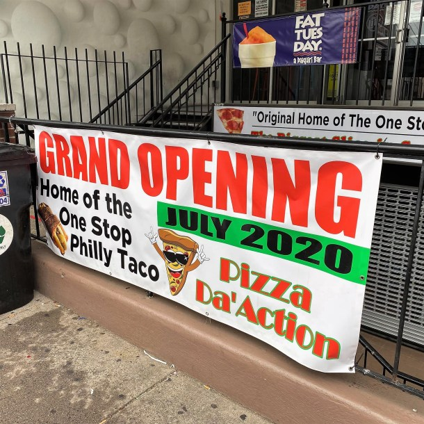 Pizza Da'Action on South Street Philadelphia