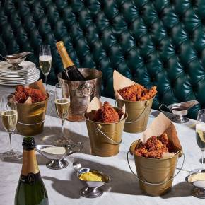 Fried Chicken and Champagne in Philadelphia