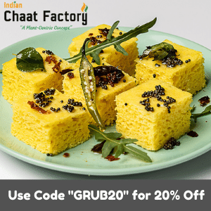 Get 20% Off Total Order at Indian Chaat Factory!