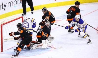 Flyers Sabres lose