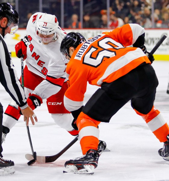 Flyers sign RFAs German Rubtsov and Linus Sandin to one-year contracts