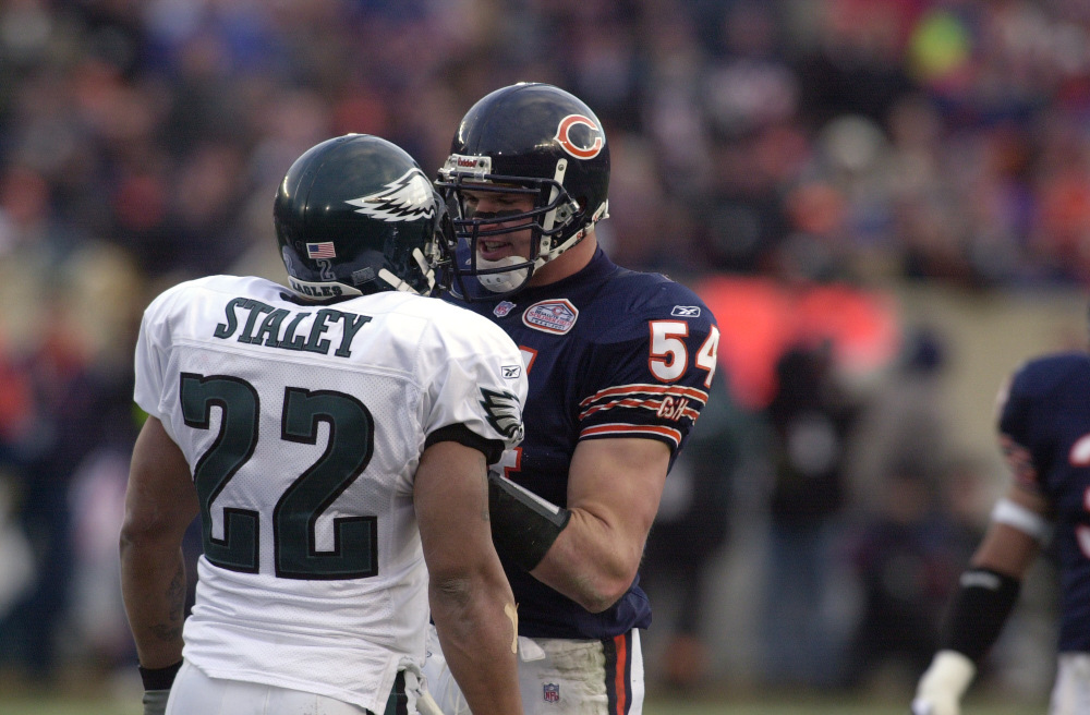 Image result for bears eagles 2001 playoffs