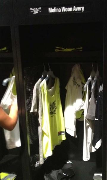 Melina Avery locker