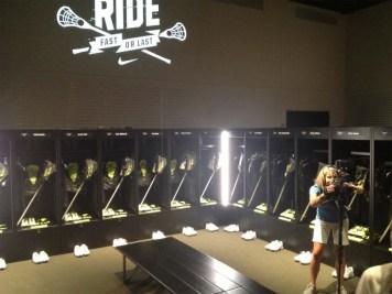 Nike Locker room