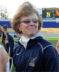 Navy coach Cindy Timchal