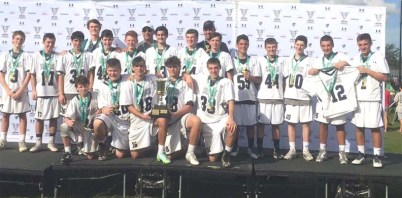 Rising Sons U13 won the Dick's Tournament of Champions  title