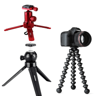 Tablet Top, & Mini Tripods