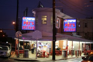 Philly Review Pat's Steaks Cheesesteaks