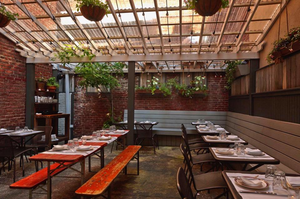 17 Places To Eat and Drink Outside This Spring