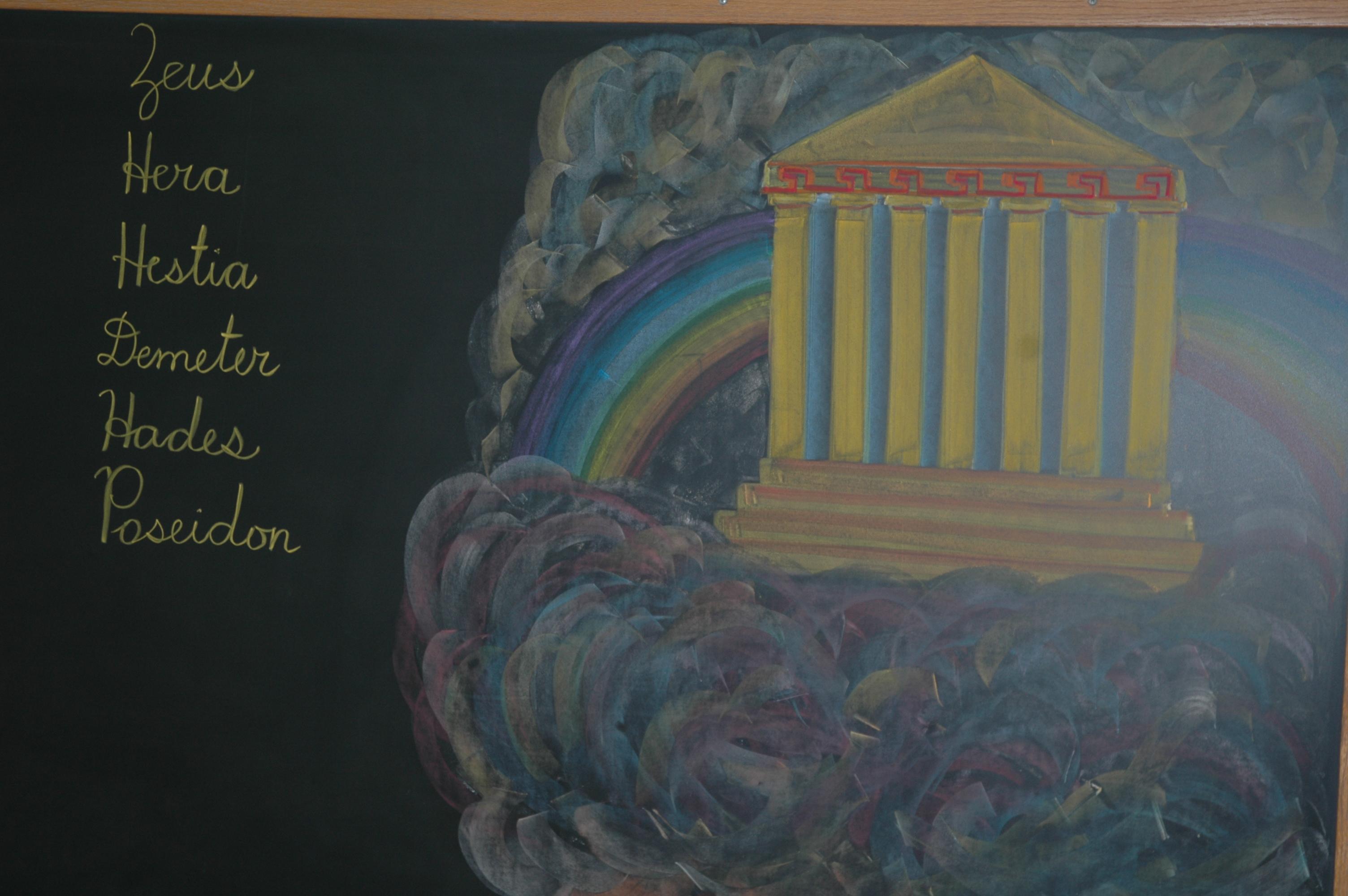 Us Geography Greek Mythology And Iowa