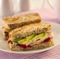Turkey Avocado Brie Sandwich
