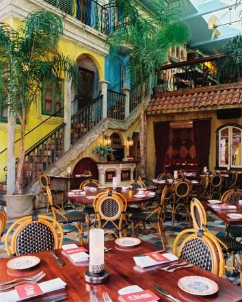 Cuba Libre Philadelphia Main Dining Room