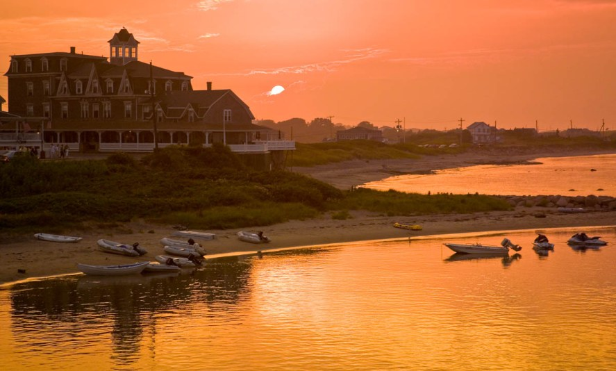 Sunset, The Surf Hotel, Old Harbor