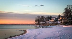 Shippan Point Winter Sunrise