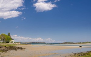 low tide, cape porpoise, maine