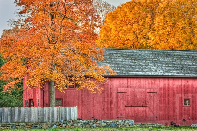 red barn on brookside drive