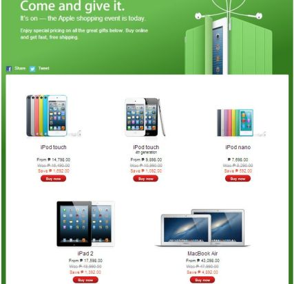 Apple Online Philippines Discount