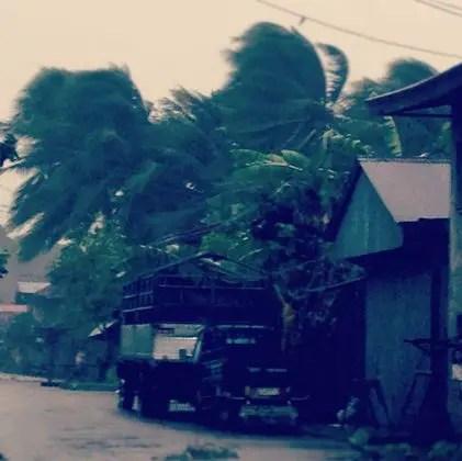 4:00 PM Updates of Typhoon December 4, 2012