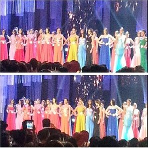 Bb. Pilipinas Evening Gown
