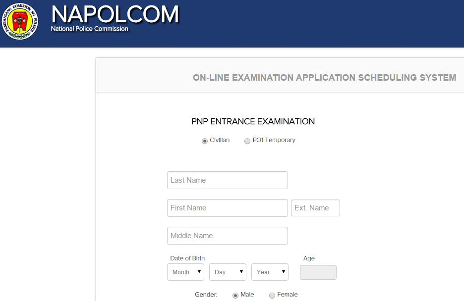 Napolcom Oleass For Pnp Entrance Exam Now Activated Aug