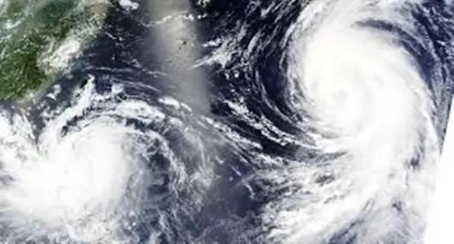 twin typhoons