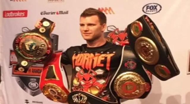 Australian boxer Jeff Horn