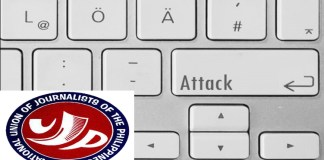 hacked website of NUJP