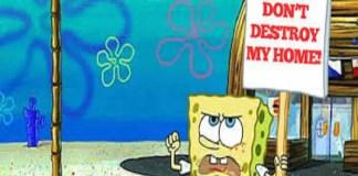 Spongebob of Nickelodeon